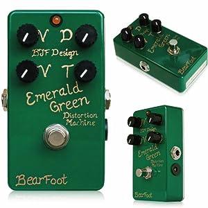 BearFoot Emerald Green Distortion Machine