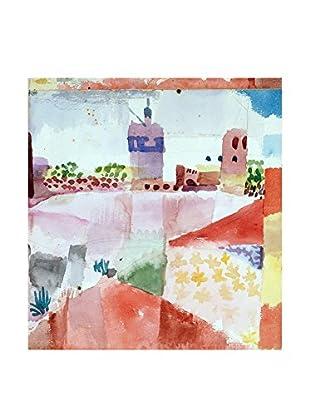 Legendarte Leinwandbild Hammamet Con La Sua Moschea di Paul Klee