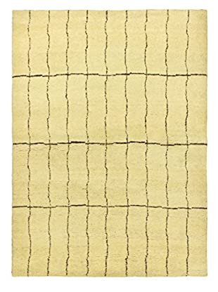 Hand-Knotted Marrakech Rug, Cream, 4' 7