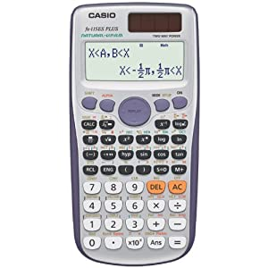 Casio Inc. FX-115ES Plus Engineering/Scientific Calculator