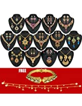 Utsav 1 Gram Gold Plated 13 Jewellery Set