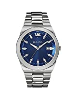 Bulova Classic Analog Blue Dial Men's Watch - 96B220