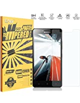 Lenovo A6000 Screen Protector, E LV Lenovo A6000 ANTI-SHATTER Tempered Glass Screen Protector Scratch Free Ultra Clear HD Screen Guard for Lenovo A6000 Only