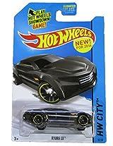 Mattel Hot Wheels - 2014 Hw City 5/250 - Hw City Works - Ryura Lx (Black)