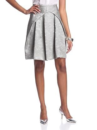 Josie Natori Women's Negan Skirt (Smoked Pearl)