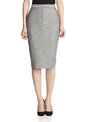 Jason Wu Women's Tweed Trouser Skirt (Black)