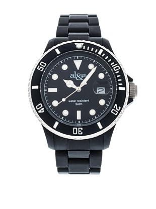 al&co Reloj Carbonplast Negro