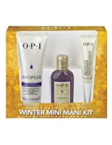 OPI Winter Mini Mani Kit, Avoplex Manicure Set, 3 pc
