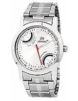 ADAMO Silver Dial Analogue Mens Watch - (AD317)
