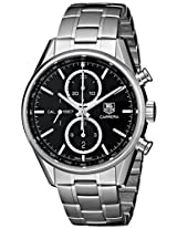 TAG Heuer Men's CAR2110.BA0724 Analog Display Swiss Automatic Silver Watch