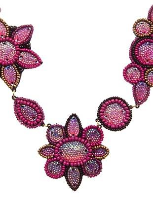 Sigris Collar Floral (Rosa)