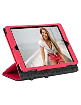 Gecko elegant folio for Ipad Air(RED)