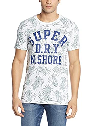 Superdry T-Shirt Manica Corta Tiki Club Aop