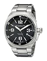 Stuhrling Original Analog Black Dial Men's Watch - 410.331113