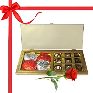 Luxurious Selection Chocolate Assortment with Rocks with Combo - Chocholik Belgium Gifts