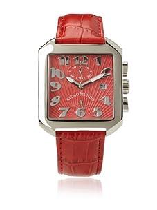 Ritmo Mundo Unisex Piazza Red Stainless Steel Watch