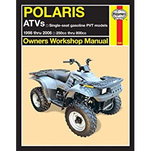 【クリックで詳細表示】Polaris Atvs 1998 Thru 2006: Single-seat Gasoline Pvt Models; 250cc Thru 800cc (Owners Workshop Manual): Alan Ahlstrand, Haynes Editorial Staff: 洋書