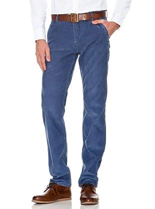 Dockers Pantalón Alpha de Pana (Azul)