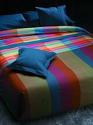 Armand Basi Juego de Sábanas Cuadros (Multicolor)