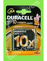 Duracell AA Alkaline MN1500-LR6 1.5V Mar 2018 (8 PCS)