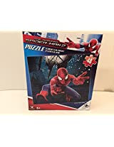 Puzzle Spider Man Throwing Web With Both Hands 48 Piece
