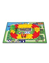 Winfun Racing Car and Tunnel Track Set, Multi Color
