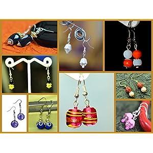 Varishta Jewells Dasavatar - Party pack of 10 pair of earrings