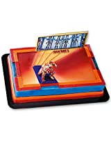 Deco Pac Iron Man 3 Cake Decorating Kit, Includes Action Figure Topper And Backdrop.