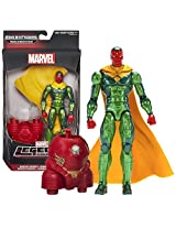 "Hasbro Year 2015 Marvel Legends Infinite Series Build A Figure ""Hulkbuster"" Series 6 1/2 Inch Tall Action Figure Marvel Heroes Vision With Removable Cape And Hulkbusters Lower Abdomen"