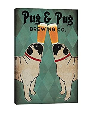 Ryan Fowler Pug And Pug Brewing Gallery Wrapped Canvas Print