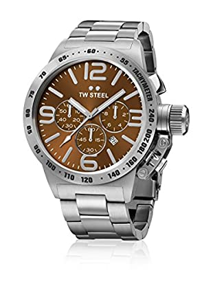TW Steel Reloj de cuarzo Man CB24 Canteen Collection 50 mm