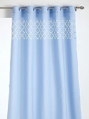 ALBA Cortina de Baño Laser Fabric (Azul)