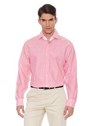 Hackett Camisa Rayas (Coral)