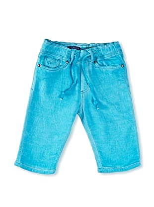 Carrera Jeans Bermuda Play 11 Oz (Turquesa)