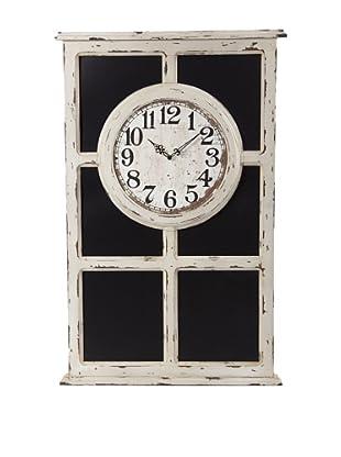 Reloj De Pizarra Blanco