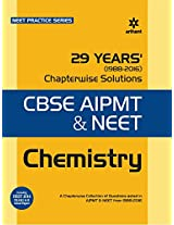 29 Years chemistry Chapterwise Solutions for CBSE AIPMT & NEET