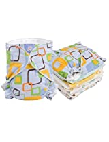 Baby Basic Diaper 5 Pack Promo Size , Infant