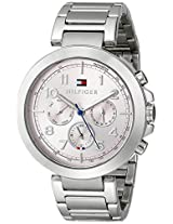 Tommy Hilfiger Analog Display Pink Dial Multifunction Women's Watch - TH1781451J