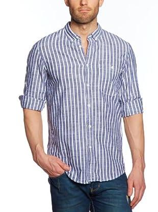Tom Tailor Camisa Misano Adriatico (Azul noche)