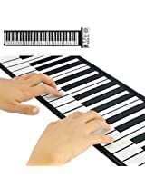 OEM Flexible Synthesizer Keyboard Piano with Soft Keys - Portable Roll Up Piano