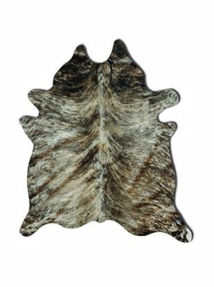 Natural Brand Kobe Cowhide Rug, Exotic Zebu, 7' x 5' 5