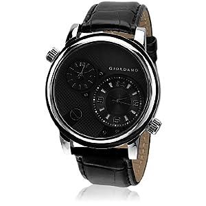 Giordano Dtlm60058 Analog Watch - Black