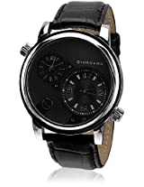 Giordano Dtlm60058 Analog Watch - Black