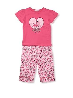 Mini ZZZ Pijama Poodle (Rosa)