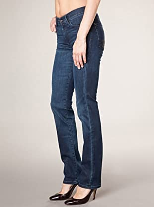 7 for all Mankind 5-Pocket African Cypress Straight Leg (dunkelblau denim)