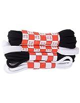 SPORTSMAN School shoe lace pack - Four pair of laces