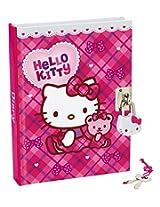 Hello Kitty Checkers Ribbon Lock Diary