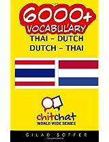 6000+ Thai-dutch Dutch-thai Vocabulary