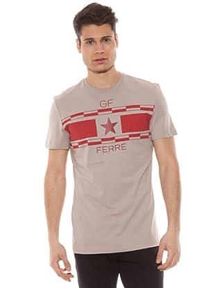 Gianfranco Ferré Camiseta Manga Corta Estampado (Arena)