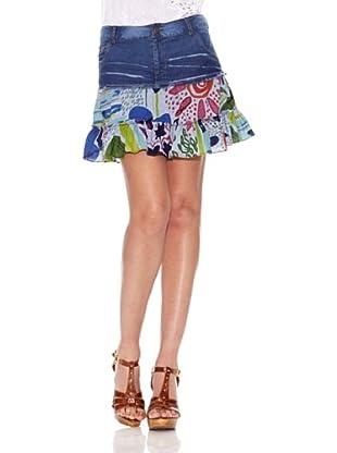 Peace & Love Falda Truckee (Azul)